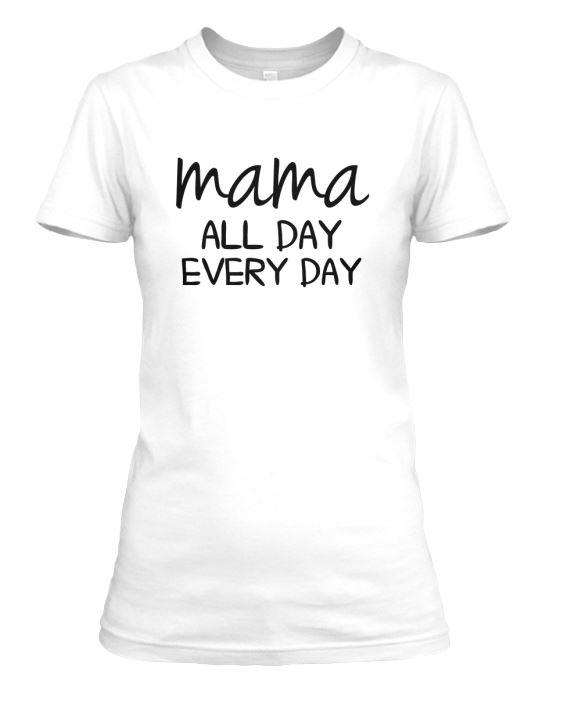 mama all day crew neck