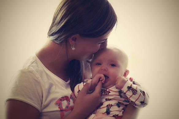 Happy Family Mother Child Meringue Cute Mum